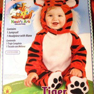 Halloween Tiger Costume Baby Infant 6-12 mos.